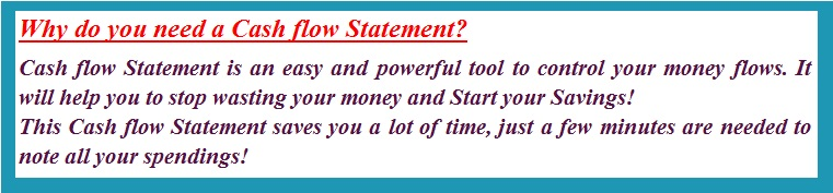 Why do you need a Cash flow Statement01